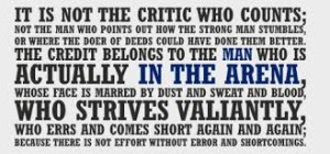IN THE ARENA Quote